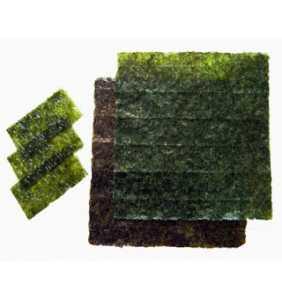 Alga Nori en planchas (para Sushi)